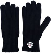 Moncler logo plaque gloves