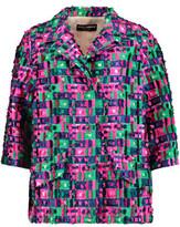 Dolce & Gabbana Fil Coupé Satin-Twill Jacket
