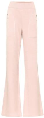 Bottega Veneta Leather-trimmed pants