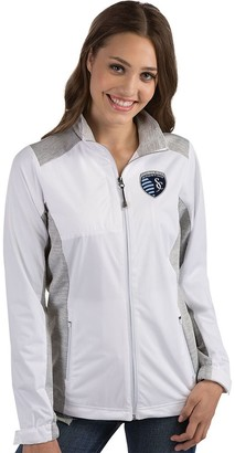 Antigua Women's Sporting Kansas City Revolve Full Zip Jacket