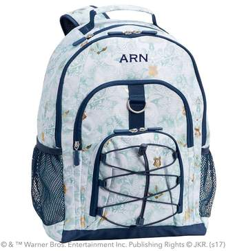 Pottery Barn Teen HARRY POTTER Gear-Up Magical Damask Backpack, Blue