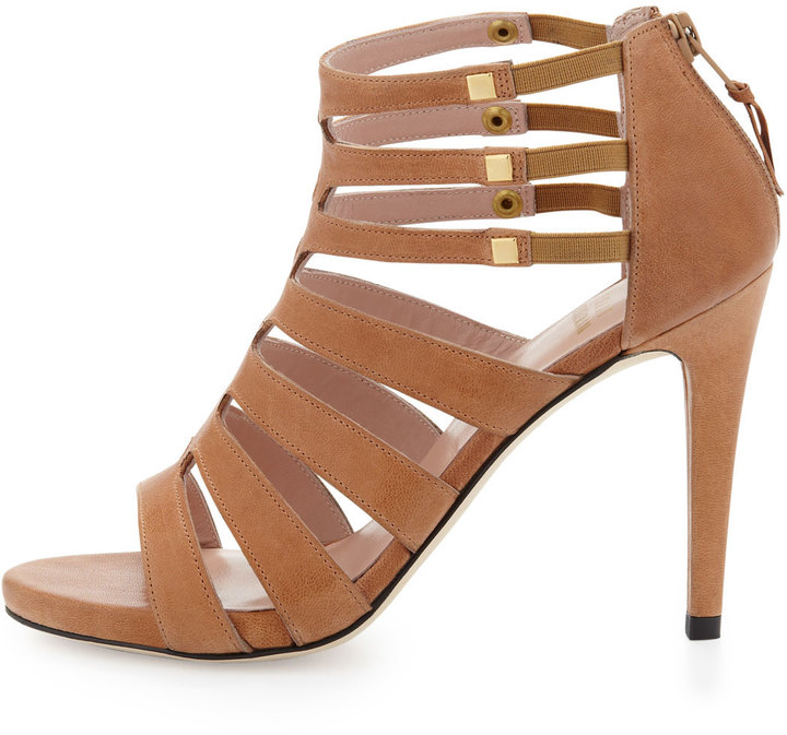 Stuart Weitzman Outing Strappy Cage Sandal