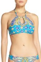 Trina Turk Women's Corsica Bikini Top
