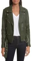 Veda Women's Jayne Orion Lambskin Leather Moto Jacket