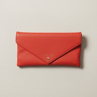 Love & Lore LOVE AND LORE ENVELOPE TRAVEL WALLET RED