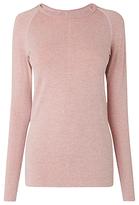 LK Bennett L.K.Bennett Flo Jersey Top, Bardot Pink