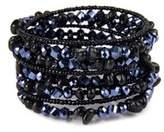 Saachi Spiral Wrap Bracelet.