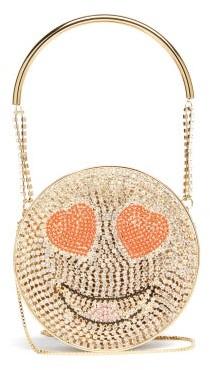 Rosantica Smile Crystal-embellished Cross-body Bag - Crystal