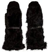 Rachel Comey Fur Paneled Mittens