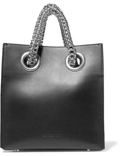 Alexander Wang Genesis Shopper Leather Tote - Black