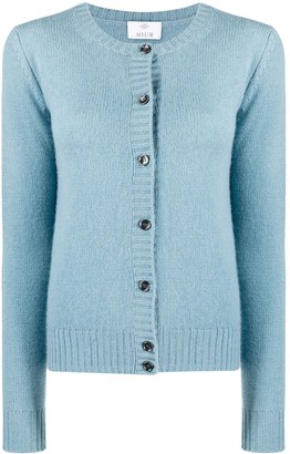 Allude Cashmere Button-Down Cardigan