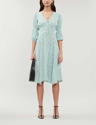 Faithfull The Brand Maud floral-print crepe midi dress