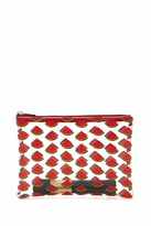 Forever 21 FOREVER 21+ Watermelon Print Makeup Bag