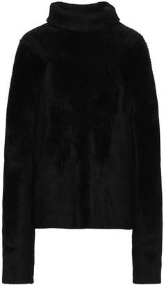 Haider Ackermann Ribbed Chenille Turtleneck Sweater