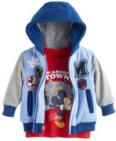 Disney Disney's Mickey Mouse Baby Boy Zip Hoodie & Long Sleeve Tee Set
