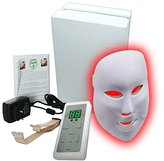 Carer 3 Color LED Mask Photon Light Skin Rejuvenation Therapy Facial Mask Photon Photodynamics PDT Beauty Facial Peels Machine Daily Skin Care Home