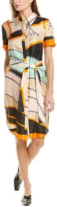 Diane von Furstenberg Ari Silk Shirtdress