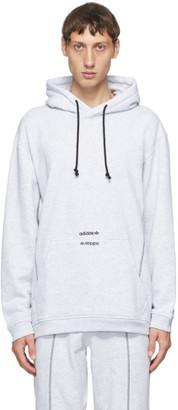 adidas Grey Crew Hoodie