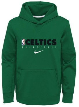 Nike Big Boys Boston Celtics Spotlight Hoodie