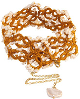 Vessel Gold Tatting Choker