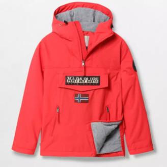 Napapijri Sparling Red NOYGNLR66 Rainforest Winter Pocket Jacket - m   red - Red/Red