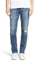 AG Jeans Men's Nomad Distressed Skinny Fit Jeans