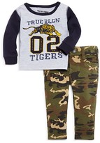 True Religion Infant Boys' Logo Tiger Tee & Camo Jeans Set - Sizes 12-24 Months