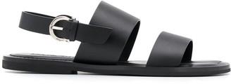 Salvatore Ferragamo Gancini leather sandals