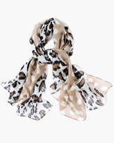 Chico's Leopard Lady Scarf