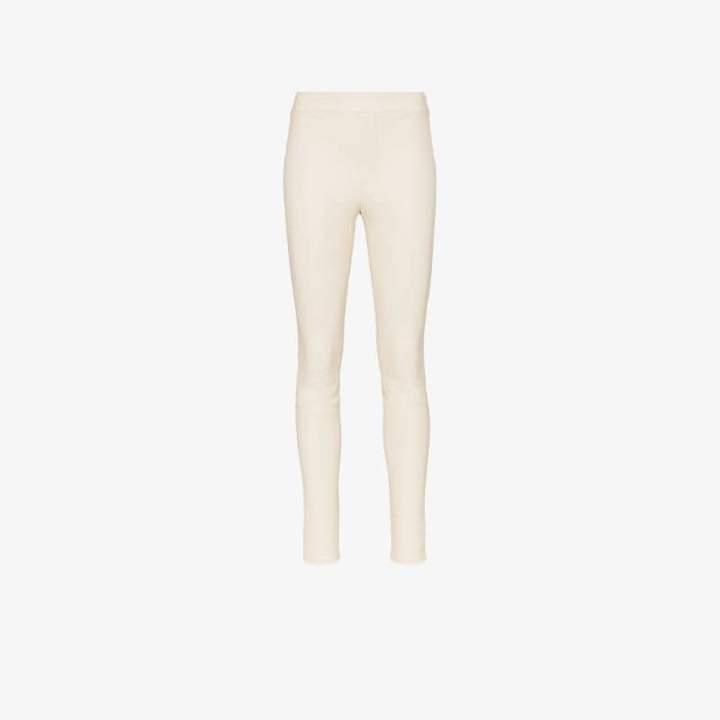 Helmut Lang super skinny leather trousers