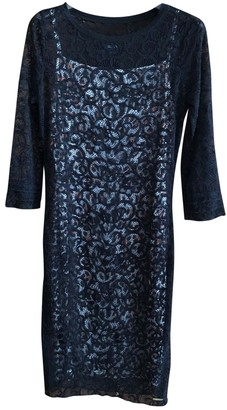 Just Cavalli Black Lace Dress for Women