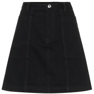 A.P.C. Stella A-line denim skirt