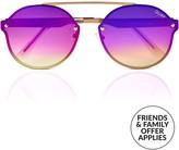 Quay Camden Heights Oval Sunglasses