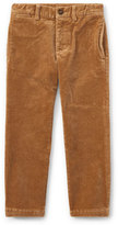 Ralph Lauren Suffield 10-Wale Corduroy Pants, Khaki, Size 5-7