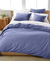 Calvin Klein Washed Essentials Color Wash King Duvet Cover Set Bedding
