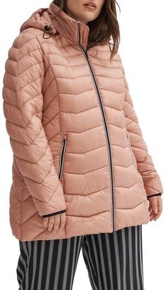 Noize Lightweight Puffer Jacket (Plus Size)