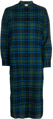 Aspesi Check Shirt Dress
