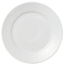 Royal Copenhagen White Fluted Half Lace Salad Plate