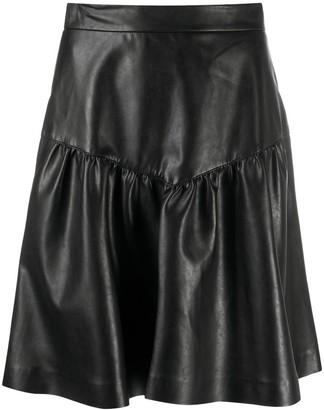 Ermanno Scervino Matte High-Waist Skirt