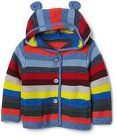 Gap Crazy stripe garter sweater