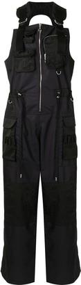 Marine Serre First-Aid Survival wide-leg overalls
