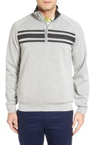 Bobby Jones Men's R18 Trio Tech Quarter Zip Golf Pullover