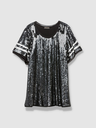 As By Df Ray Sequin Tee
