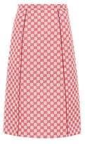 Gucci GG cotton-blend skirt