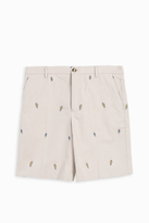 Kenzo Cartoon Tailored Shorts