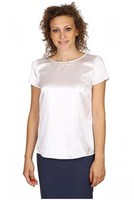 Armani Collezioni Ladies Shirt Short Sleeve Without Buttons.