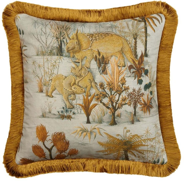 House of Hackney Dinosauria Medium Cotton Pillow