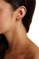 Trina Turk Convertible Button Earrings