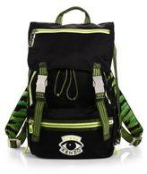 Kenzo Nylon Eye Backpack