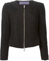 Ungaro flower knit jacket - women - Polyester/Acetate/Rayon - 46